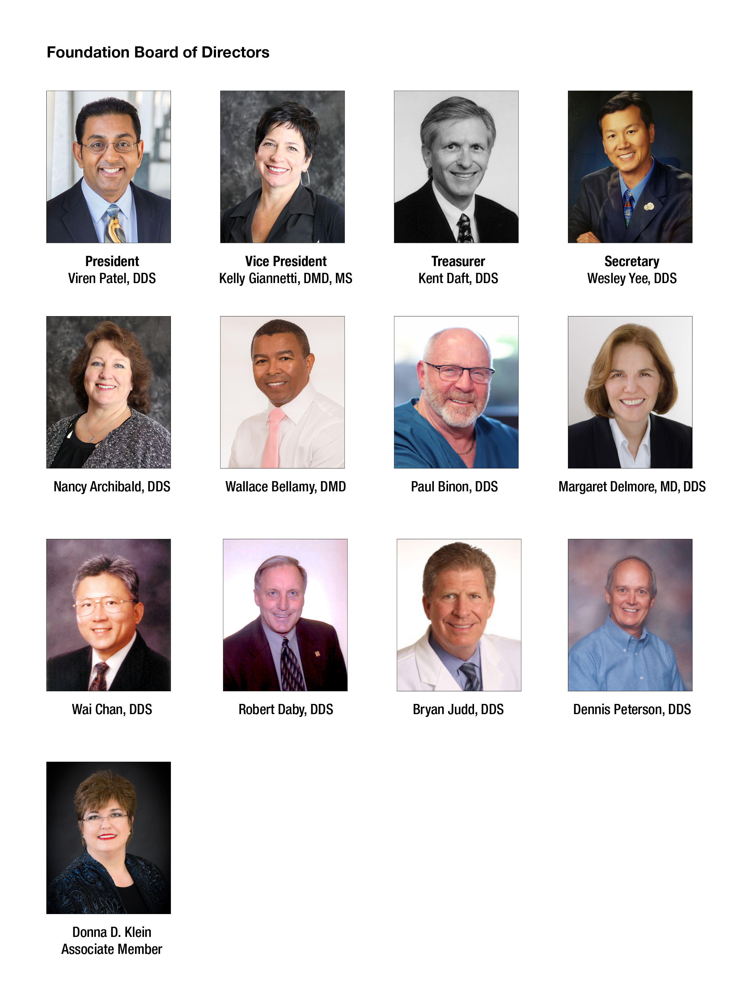 pictures of board members