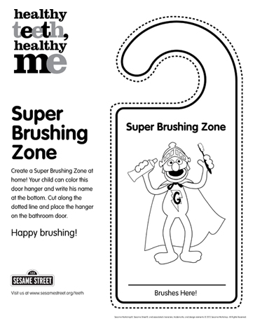 Brushing Zone
